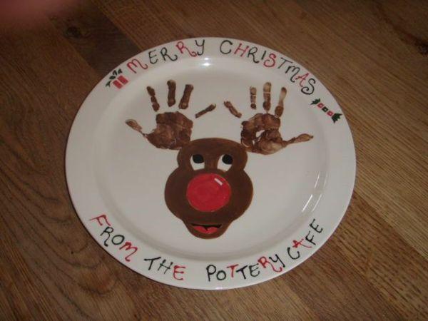 Ber ideen zu rentier fu abdruck auf pinterest for Weihnachtsgeschenke lustig