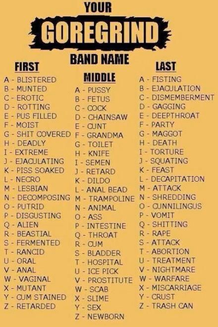 54 best What's your name? Game... images on Pinterest ...