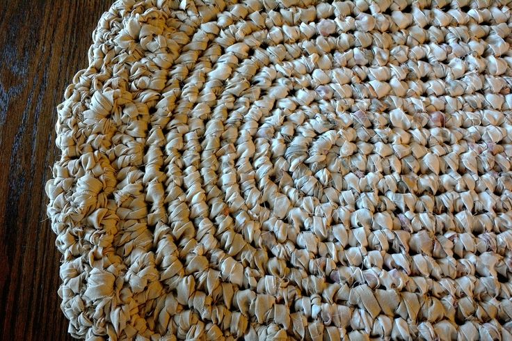 Rag Rug, Crocheted Rag Rug, Bathroom Rug, Cream/Tan Rag Rug, Oval Rag Rug, Homemade Rug, Handmade Rag Rug, Cottage Chic Rugs, Country Rug by 10whisperingfriends on Etsy