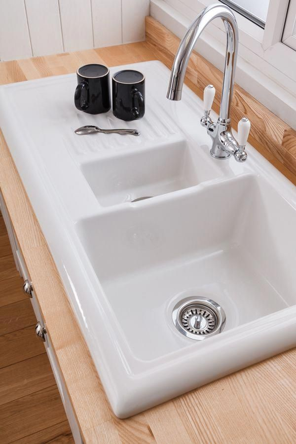 This 1 5 Bowl Reginox Ceramic Sink With Drainer Combines Perfectly