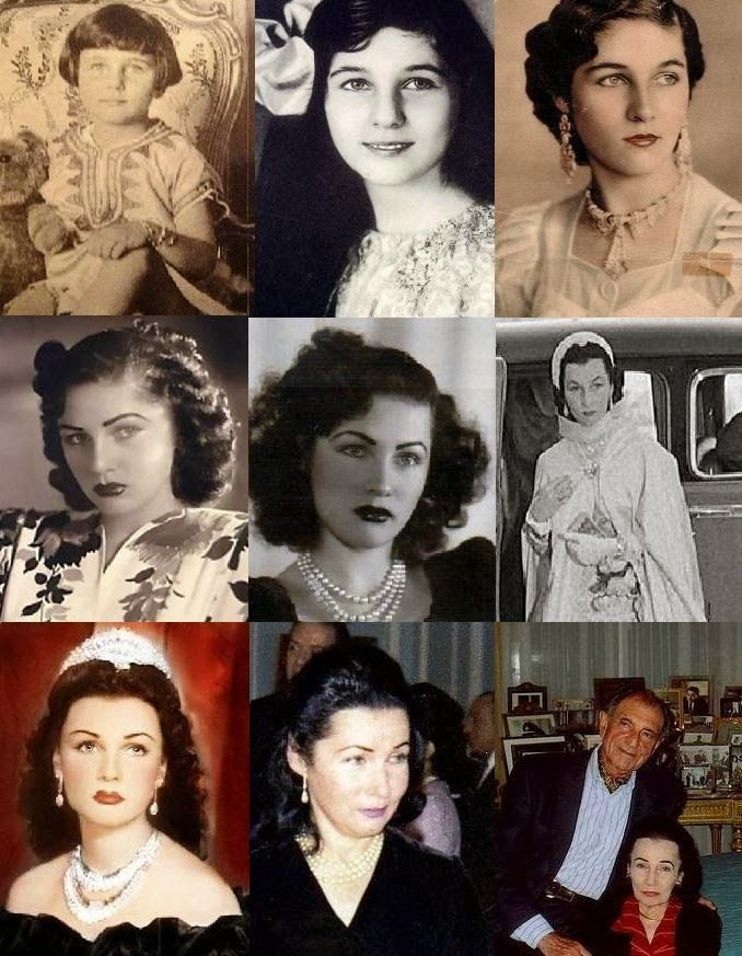 Princess Fawzia, younger sister of King Farouk, became first Queen of Shah of Iran