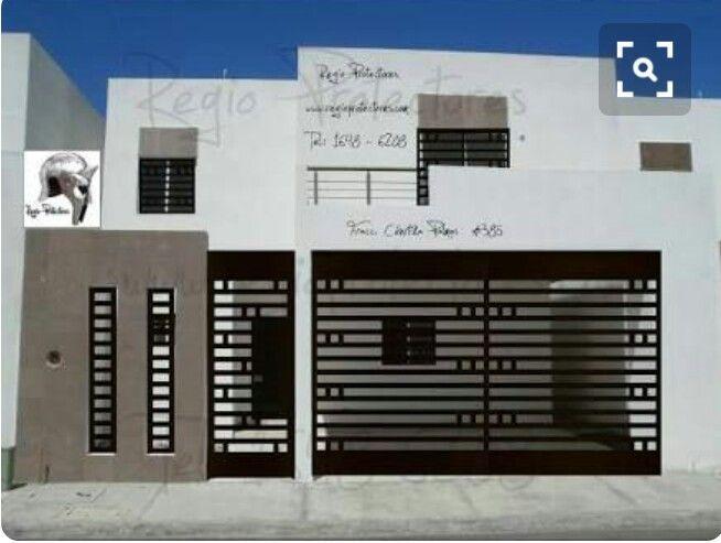 Las 25 mejores ideas sobre portones minimalistas en for Puertas para casas minimalistas