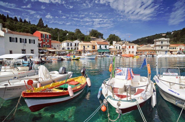 Loggos, Paxoi island, Greece. #greeksummer #greekislands #greece #vacations #beach #scenery More at corfu2travel.com/...