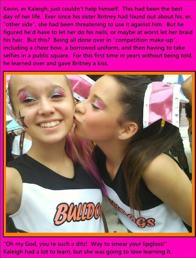 Image Result For Forced Feminization Captions Cheerleader -1099