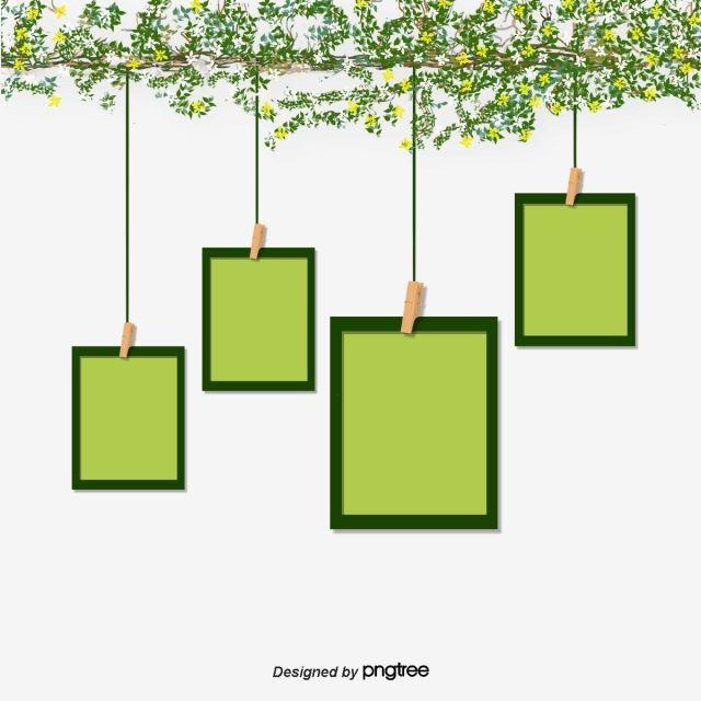 녹색 평촉 창의 액자 조합 플랫 잎 부드러운 창백무료 다운로드를위한 png 및 psd 파일 bingkai kreatif bingkai foto www pinterest ph