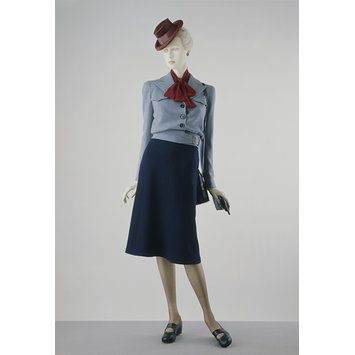 Skirt suit autumn 1942 Utility