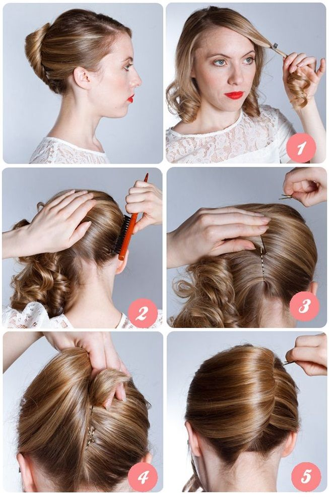 French Hairstyle Banana Twist DIY French twist Long