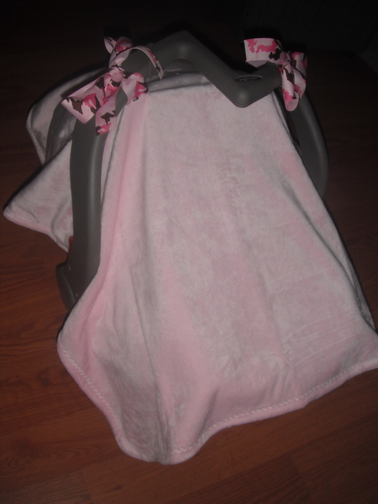 DIY Car Seat Cover! I Took A Purchased 36x30 Fleece Baby