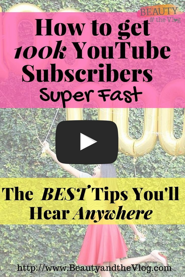 How to get 100k YouTube Subscribers in 8 Months
