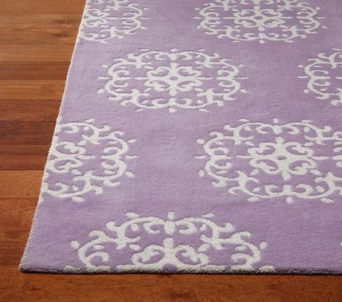 Medallion Rug | Pottery Barn Kids