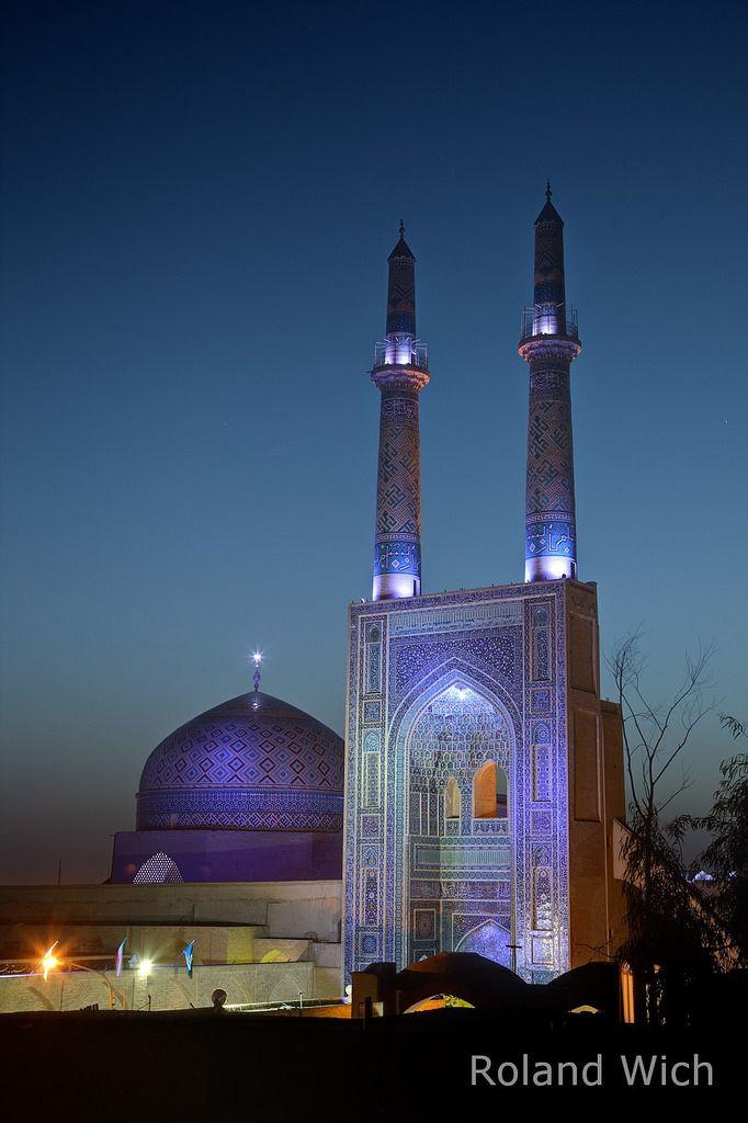 Yazd - Friday Mosque | Roland Wich | Flickr