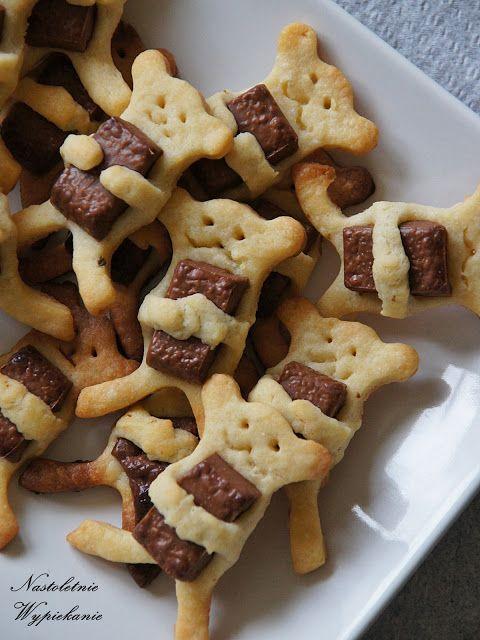 Nastoletnie Wypiekanie: Półkruche misie z kostką czekolady w łapkach