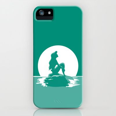This site has the most awesome phone cases! Little Mermaid iPhone & iPod Case