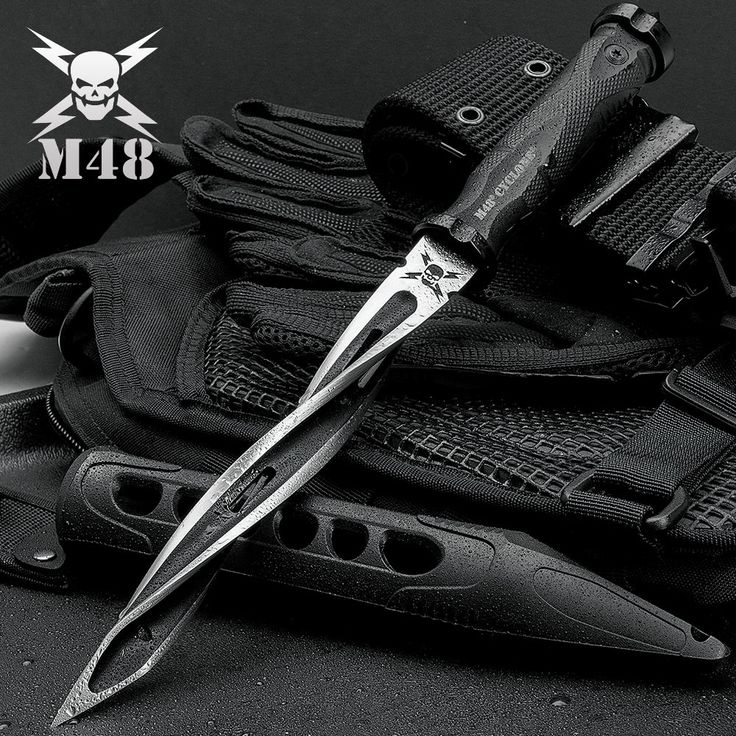 M48 Cyclone Fixed Blade Knife | BUDK.com - Knives & Swords At The Lowest Prices!