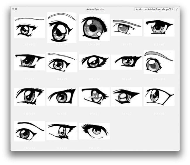 Imagenes de pares de ojos para colorear - Imagui