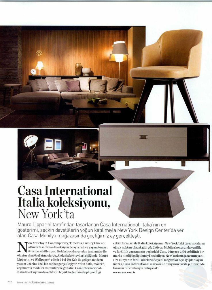 Marie Claire Maison - November 2015 #casa #casafurniture #casamobilya #casainternational
