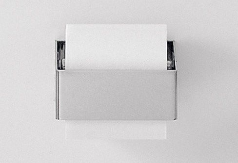 A couple of weeks ago, we rounded up our favorite traditionally styled toilet roll holders (see 10 Easy Pieces: Traditional Toilet Paper Holders). This wee