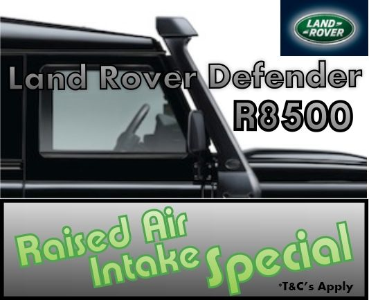 Land Rover Defender Raised Air Intake Special R8500