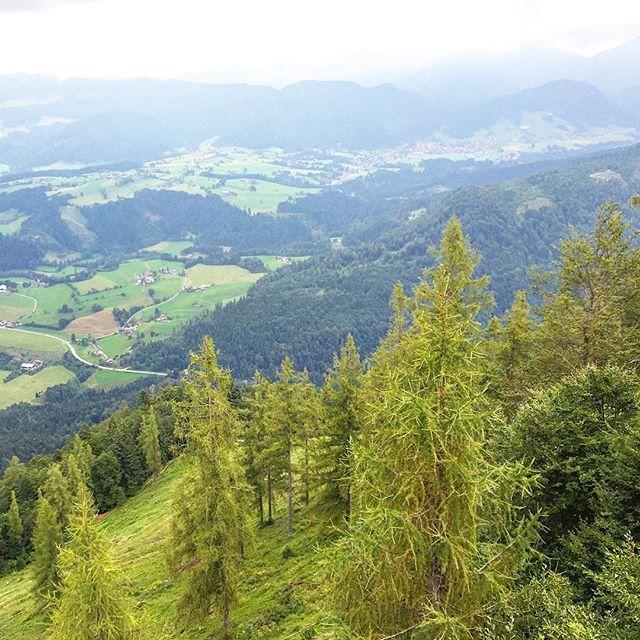 Eine schöne Gegend funktioniert auch bei schlechtem Wetter. #Kaiserwinkl #Tirol #Österreich #Reisen #Urlaub
