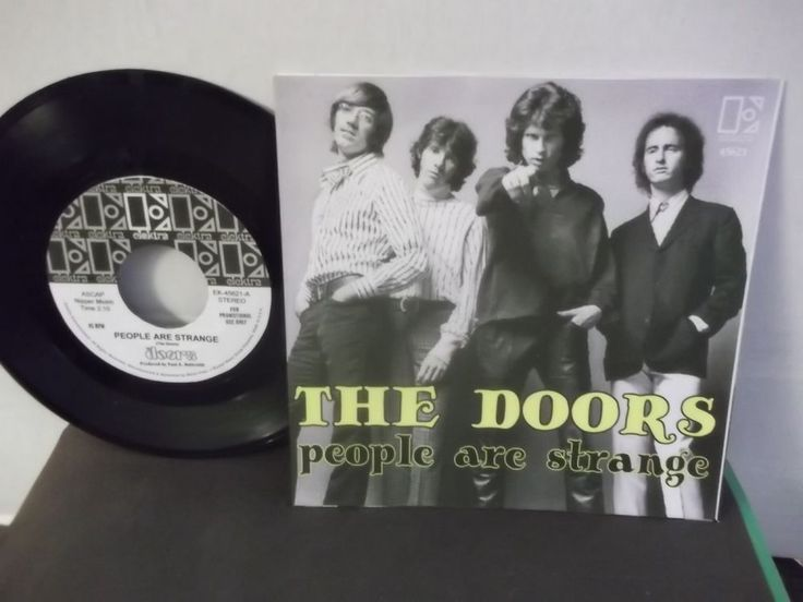 The Doors People Are Strange single released as a US fan club single #thedoors #single