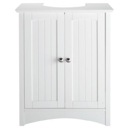 Buy southwold under sink storage unit white from our for Bathroom cabinets tesco