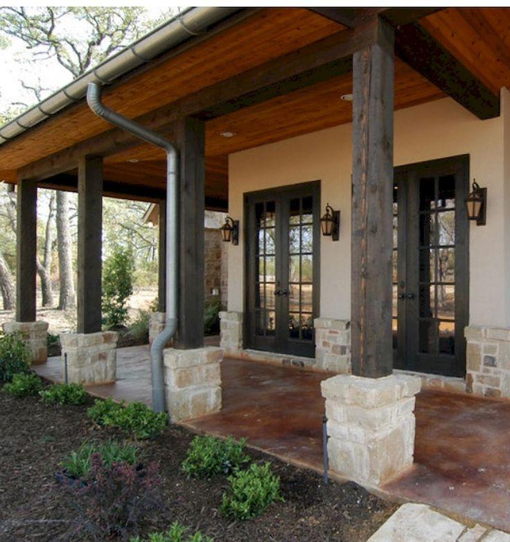 Small Front Porch Column Ideas: Best 25+ Stone Front Porches Ideas On Pinterest