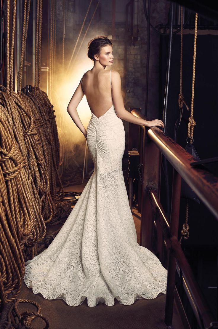 Flared Lace Wedding Dress - Style #2089   Mikaella Bridal