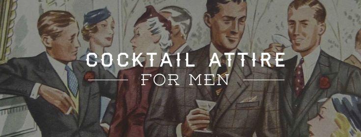 Cocktail Attire For Men
