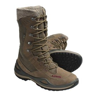 Lowa Paganella Gore-Tex® Hi Hiking Boots  - Waterproof, Insulated (For Women) in Stone
