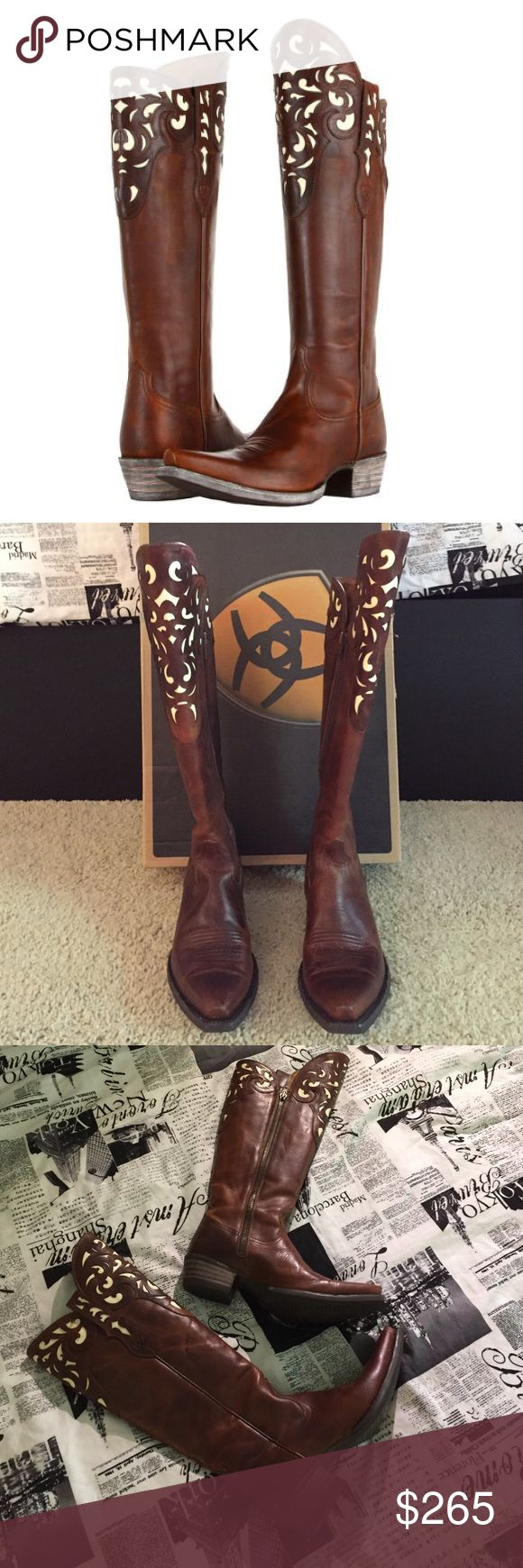 Ariat Women's Boots SALE Worn one time. Purchased at Cavenders. Comes with box and all original packaging Ariat Shoes