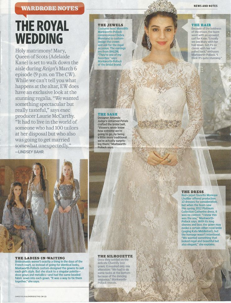 74 best fashion reign images on pinterest reign fashion for Reign mary wedding dress