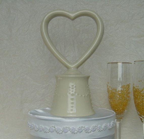 Unique Wedding Cake Topper wedding cake by ChippingstoneCottage