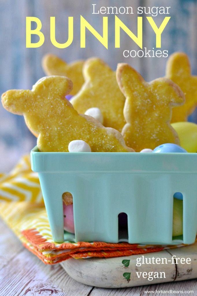 Gluten-Free Vegan Lemon Sugar Cookies - Fork and Beans