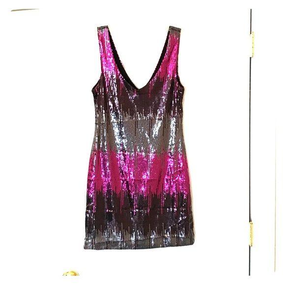 Sequin Ombré Party Dress Bodycon, great for Vegas or Bachelorette party Dresses
