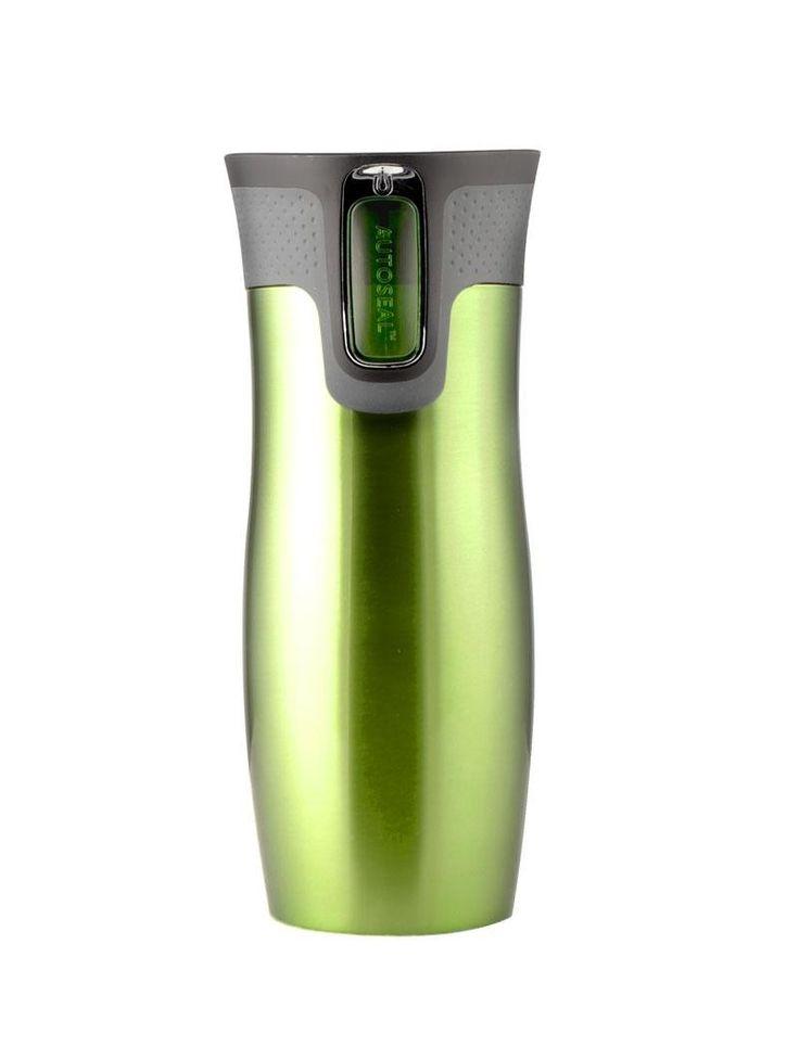 Contigo West Loop on ruostumattomasta teräksestä valmistettu juomapullo. Juoma pysyy pullossa oikean lämpöisenä pitkään eikä pullo hikoile kuumallakaan säällä, koska siinä on tyhjiöeristetty kaksoisseinämärakenne.     Contigo-pulloissa on patentoitu Autoseal-kansi, joka avautuu painikkeesta painamalla. Tiiviste sulkeutuu heti, kun painikkeesta päästetään irti: juoma ei vuoda tai läiky kaatuessaan tai laukussa! Voi myös juoda pullosta urheilusuorituksen aikana tai autolla ajaessa!