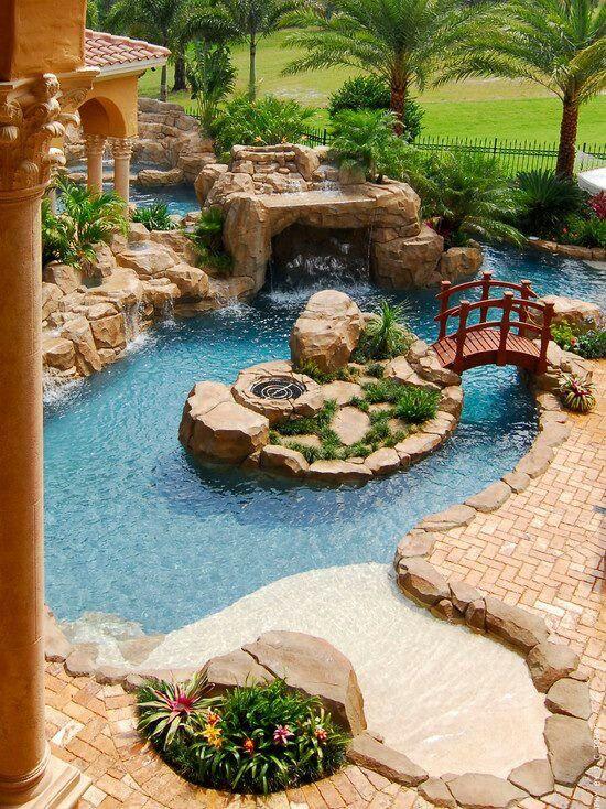 Best 25+ Lazy river pool ideas on Pinterest | Backyard lazy river ...