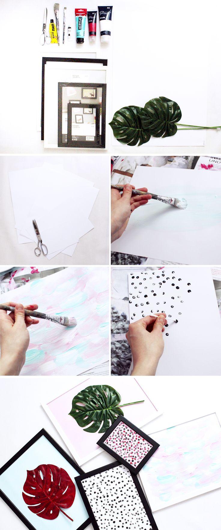 Luxury Wanddeko Ideen zum Selber Machen DIY Blog