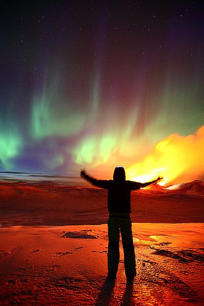 Islanda: vulcani ed aurora boreale