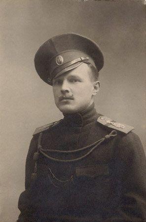 Младший унтер-офицер 1-й Санкт-Петербургской бригады, 1916 г. -
