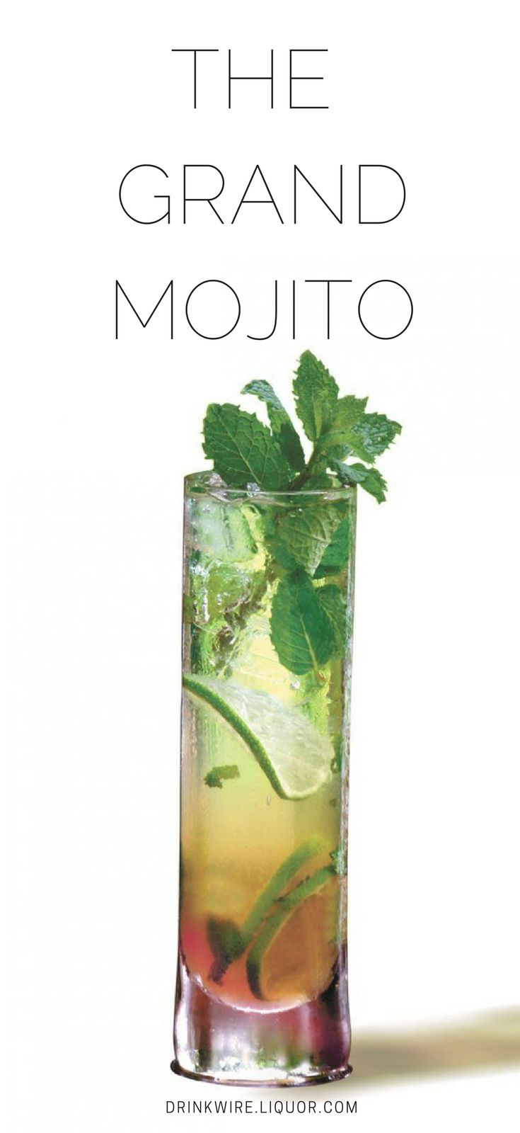 Traditionally made with light rum, this cocktail twists the typical Mojito by using dark rum that adds a layer of color to the glass and a slightly new taste. This will be the ultimate cocktail for poolside sipping come spring and now you can be the superstar bartender mixing them up.