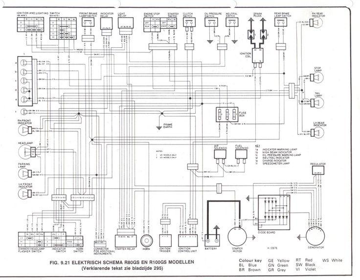 Bmw r1150r electrical wiring diagram #3 | Bmw | Electrical