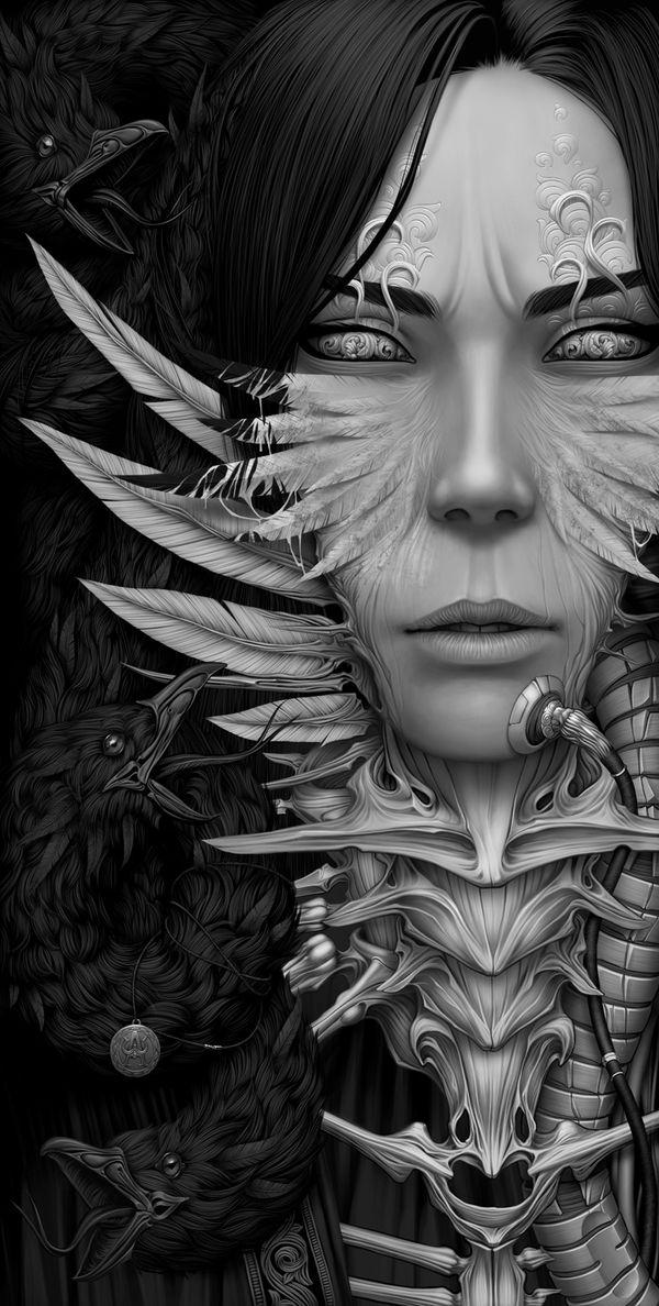 Amazing dark works by an artist from Ukraine – Alexander Fedosov.