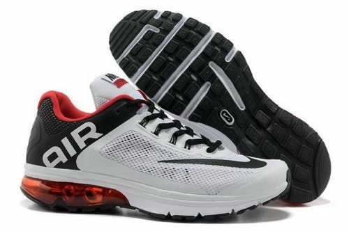 white red black nike air max 2013 basketball shoes for sale