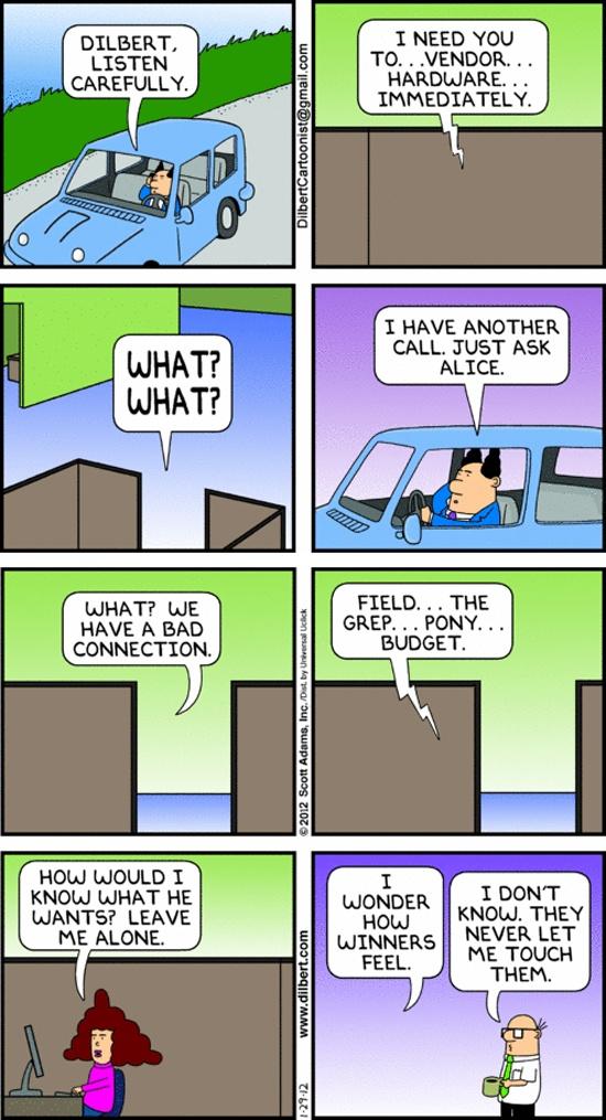 Dilbert Minus Dilbert