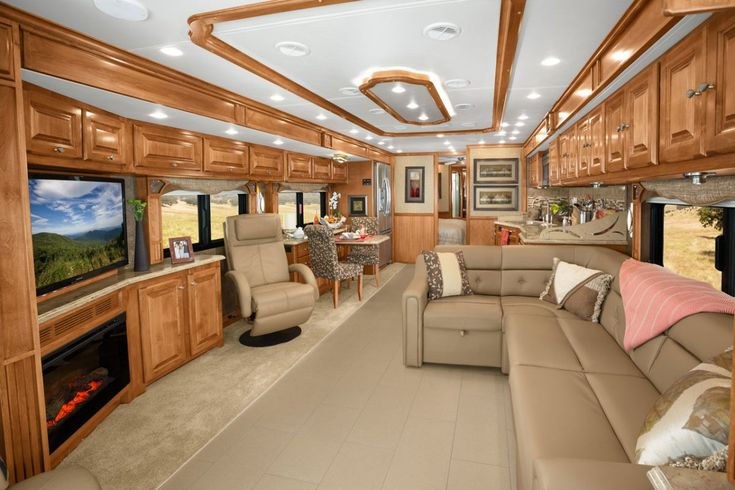 1000 ideas about luxury rv living on pinterest luxury Tour bus interior design