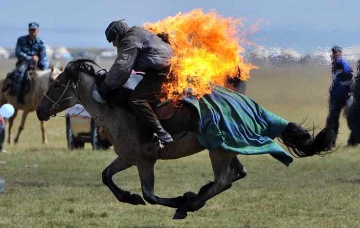 Festival in Kirgiz
