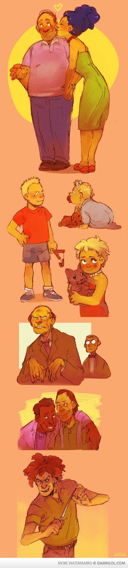Cartoon Characters 3 Fingers : Best images about the simpsons on pinterest five