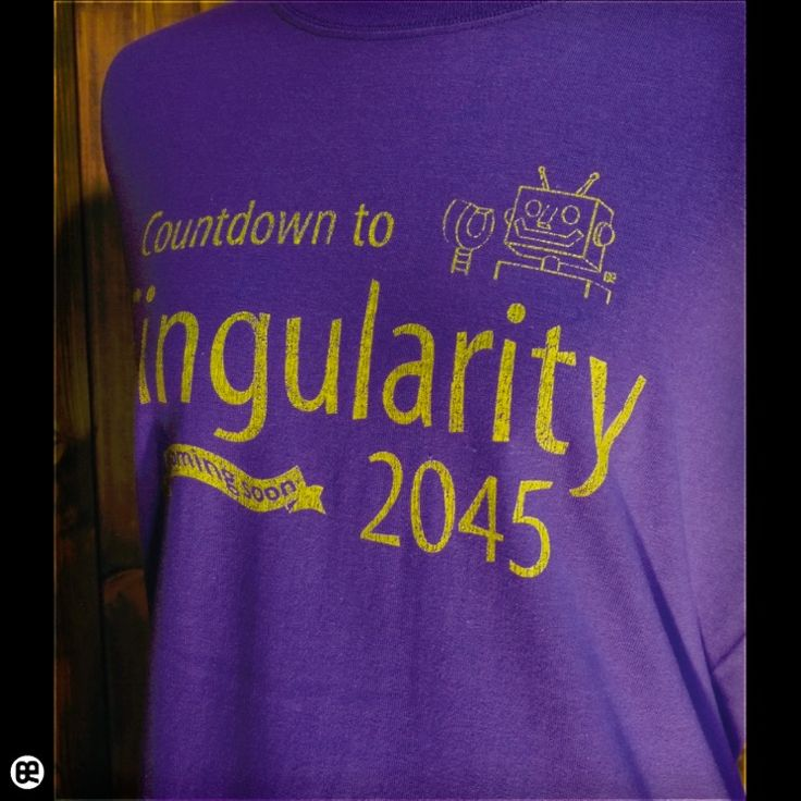 ロンT/メンズ/レディース/長袖/Tシャツ : Singularity : バイオレットパープル