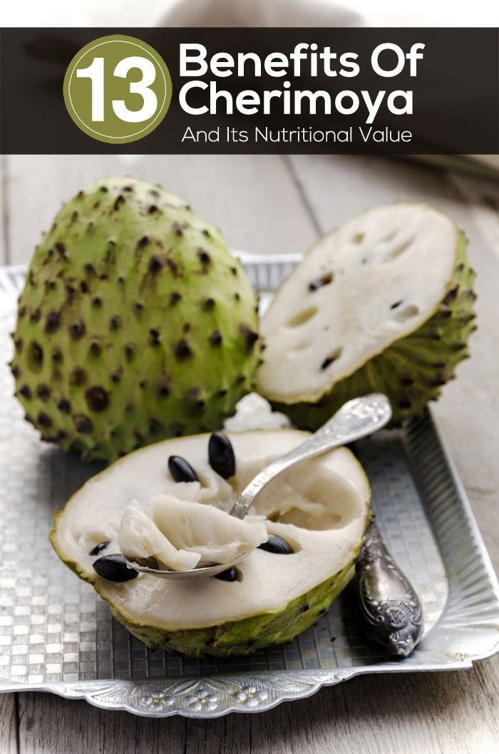 13 Benefits Of Cherimoya Fruit And Its Nutritional Value