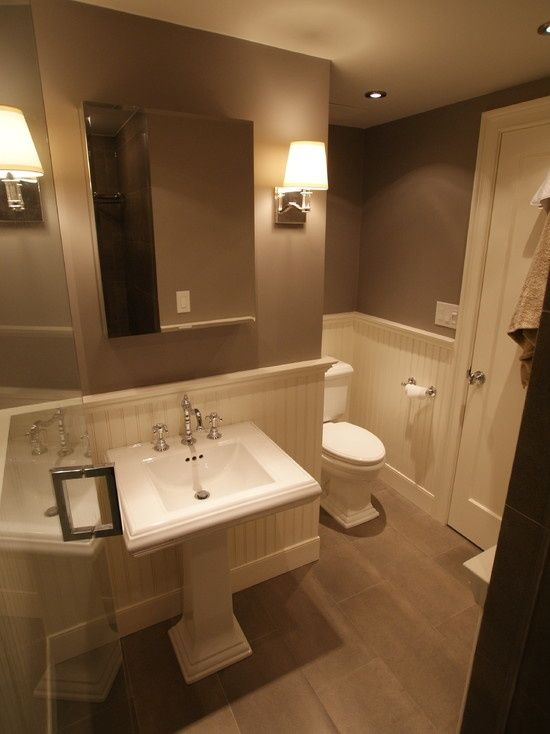 Wainscoting In Bathroom Design, Pictures, Remodel, Decor and Ideas.